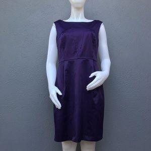 Club Monaco Purple Sheath Dress Size 10